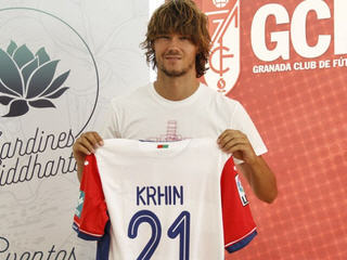 Granada have bolstered their midfield ahead of the new season with the signing of Slovenia international Rene Krhin from Inter Milan.