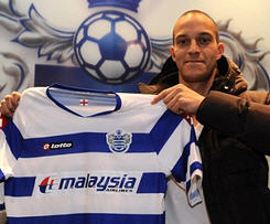 QPR have completed their transfer deadline day signing of striker Bobby Zamora from Fulham on a two-and-half-year deal.