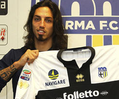Inter's Schelotto loaned out to Parma.