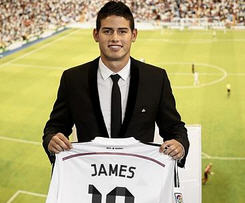 Real Madrid have signed World Cup Golden Boot winner James Rodriguez from French league club Monaco.