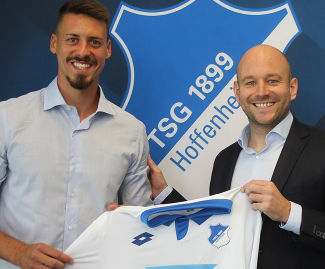 Hoffenheim have announced the signing of Sandro Wagner from Bundesliga rivals Darmstadt.