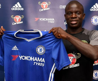 Chelsea have completed the signing of N'Golo Kanté from Leicester City for a fee of around £32m, with the France midfielder signing a five-year contract.