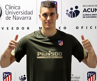 Atlético Madrid have confirmed the signing of highly-regarded goalkeeper Ivo Grbić from NK Lokomotiva Zagreb.