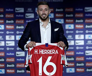 Atletico Madrid have officially announced the acquisition of former Porto midfielder Hector Herrera.