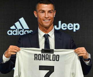 Juventus has announced that they have signed the five-time Ballon d'Or winner on a four-year contract until 30 June 2022.