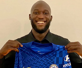 Chelsea have completed the club-record signing of Romelu Lukaku from Inter Milan for £97.5m on a five-year deal.