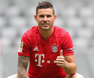 Bayern Munich have signed Lucas Hernandez from Atlético Madrid for a fee understood to be a club record €80m.