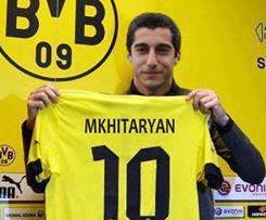 Borussia Dortmund have signed Shakhtar Donetsk midfielder Henrik Mkhtaryan.