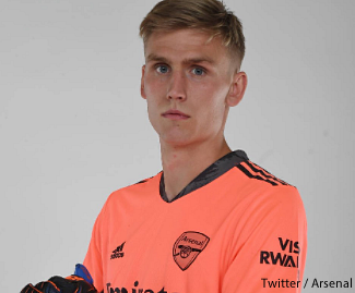Arsenal have signed goalkeeper Alex Runarsson on a four-year contract from Ligue 1 club Dijon.