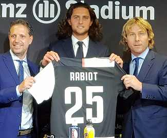 Adrien Rabiot is officially a Juventus player. The Frenchman joins on a free after he allowed his PSG contract to run down.