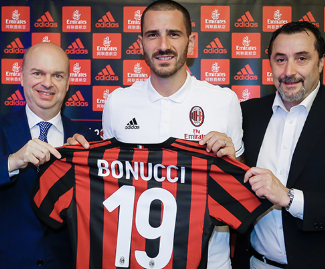 The Leonardo Bonucci era at Juventus has come to a sudden and abrupt end, with the legendary defender sold to AC Milan for €40 million.