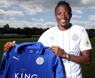 Leicester City have signed Nigeria international Ahmed Musa from CSKA Moscow on a four-year contract for a club-record fee of £16.5m.