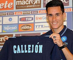 Napoli have completed the signing of striker Jose Callejon from Real Madrid on a four-year deal.