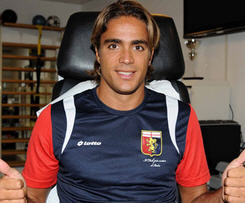 Genoa have announced that Alessandro Matri has joined them on loan from Serie A rivals AC Milan for the 2014-15 season.