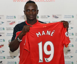 Sadio Mane signs for Liverpool from Southampton in deal worth £30m