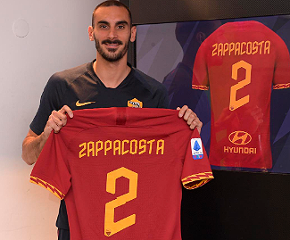 Chelsea right-back Davide Zappacosta has joined Roma on an initial six-month loan.