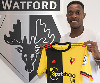 Watford have confirmed the signing of the former Arsenal forward Danny Welbeck on a free transfer.