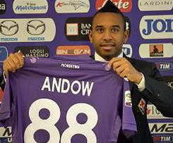 Manchester United midfielder Anderson has joined Italian side Fiorentina on loan.