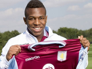 Aston Villa have completed the signing of Barcelona winger Adama Traore for a fee reported to be around £7m.