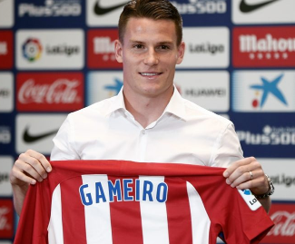 Atletico Madrid have signed Kevin Gameiro for a reported 32 million euros, plus a further seven million in add-ons.