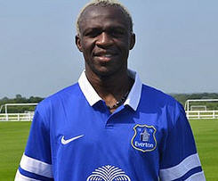 Everton have signed Wigan striker Arouna Kone on a three-year deal after meeting a £6m release clause.