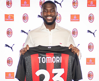 AC Milan have completed the signing of Fikayo Tomori on loan from Chelsea until the end of the season.
