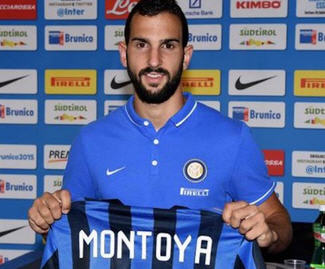 Martín Montoya joins Inter Milan on loan from FC Barcelona.