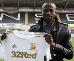 Swansea sign wing Roland Lamah on loan from Osasuna.
