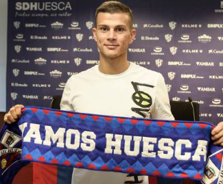 Huesca have completed the signing of Samuele Longo from Inter Milan on loan.