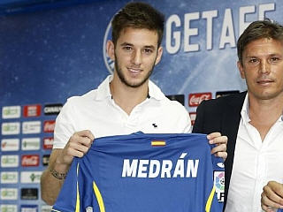 Getafe have swooped for Real Madrid midfielder Alvaro Medran and will spend next season on loan with Azulones.