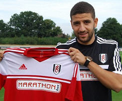 Queens Park Rangers midfielder Adel Taarabt has signed for Fulham on a season-long loan.