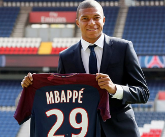 Paris Saint-Germain have signed Kylian Mbappe on loan, with a staggering €175million option to buy next summer.