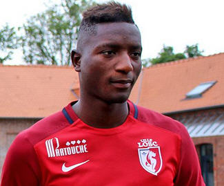 Lille have announced the signing of young attacker Sehrou Guirassy from Stade Lavallois.
