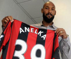 French striker Nicolas Anelka has joined West Brom on a one-year deal.