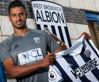 West Brom have signed Belgium midfielder Nacer Chadli from Premier League rivals Tottenham on a four-year deal for a fee reported to be £13m.