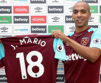Inter Milan and Portugal midfielder Joao Mario has completed his loan move to West Ham until the end of the season.