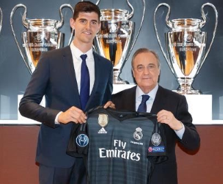 Real Madrid officially announced that they've completed a deal for Belgian goalkeeper Thibaut Courtois.