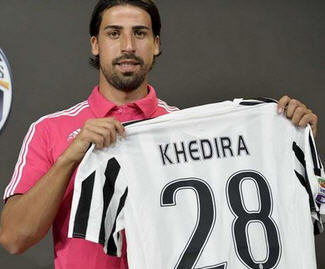 Sami Khedira signs for Juventus from Real Madrid on a free transfer.