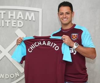 West Ham have completed the £16m signing of Bayer Leverkusen striker Javier Hernandez.