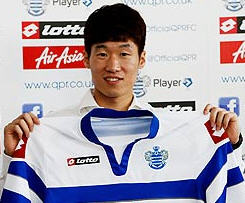 QPR have completed the marquee signing of Manchester United's Park Ji-sung