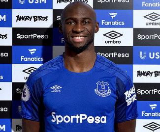 Everton have signed France defender Eliaquim Mangala from Manchester City on loan until the end of the season.