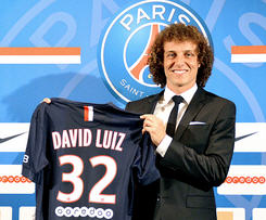 David Luiz seals £50m PSG move from Chelsea as Brazil star signs five-year deal.