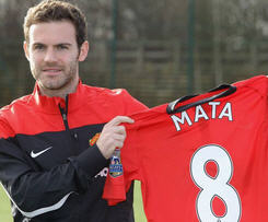Manchester United announced that Juan Mata has completed his transfer for a club-record fee of £37.1 million.
