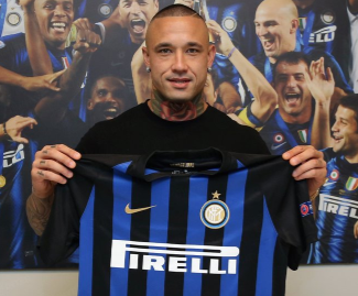 Inter Milan have announced the sensational capture of Roma superstar Radja Nainggolan on a four-year deal.