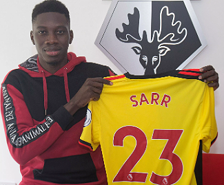 Watford have announced the long awaited arrival of Senegal international Ismaïla Sarr in a club-record deal from Stade Rennais.
