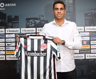 Eintracht Frankfurt have announced the signing of midfielder Omar Mascarell from Real Madrid on a three-year contract.