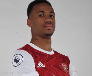 Gabriel Magalhaes has completed his £27million transfer to Arsenal from Lille, the Premier League side have announced.
