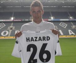 Thorgan Hazard joins Borussia Monchengladbach on loan from Chelsea.