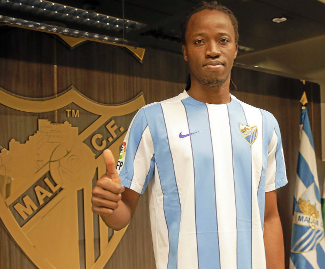 Lyon defender Bakary Koné has joined Malaga on a long-term contract.