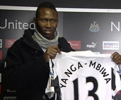 Newcastle have completed the signing of central defender Mapou Yanga-Mbiwa from Montpellier on a five-and-a-half-year contract.